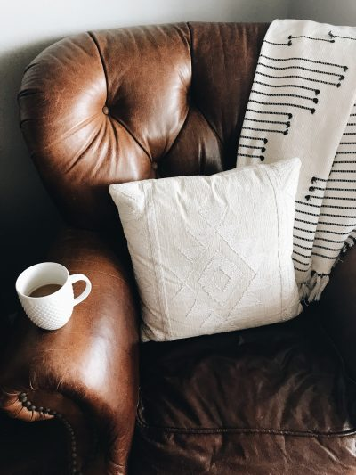 Couch and coffee